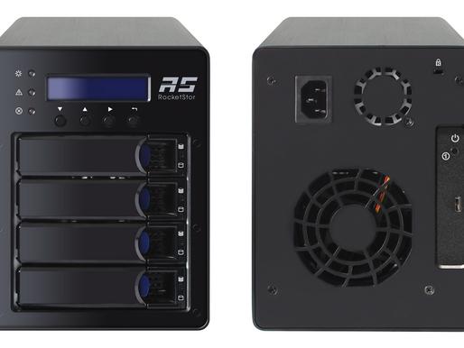 HighPoint RocketStor 6124V: Hệ thống RAID USB 3.1 tốc độ 10 Gb/s