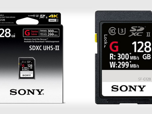Sony ra mắt thẻ nhớ SD nhanh nhất thế giới, tốc độ ghi lên đến 299 MB/s