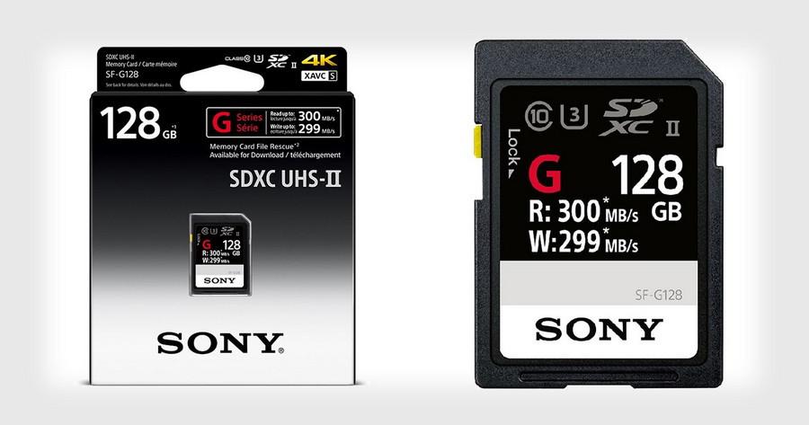Sony ra mắt thẻ nhớ SD nhanh nhất thế giới, tốc độ ghi lên đến 299 MB/s.