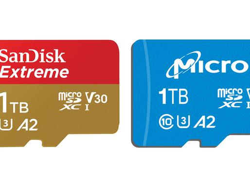Kỷ nguyên thẻ nhớ microSD 1TB đã bắt đầu