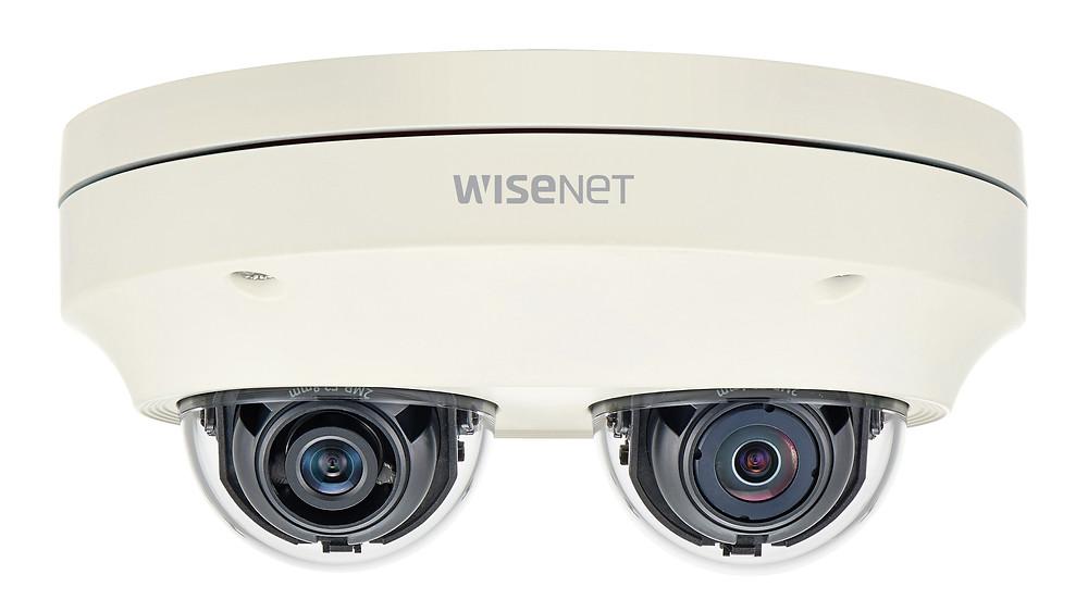 PNM-7000VD: Dòng camera Wisenet P hai kênh đa hướng của Hanwha Techwin.