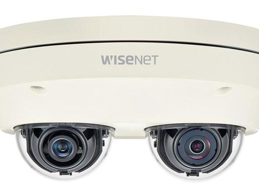 PNM-7000VD: Dòng camera Wisenet P hai kênh đa hướng của Hanwha Techwin