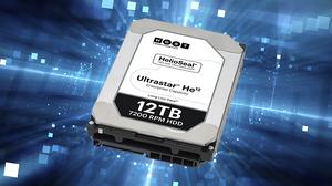 """Western Digital bắt đầu bán ra ổ cứng doanh nghiệp 3.5"""" Helium 12TB."""