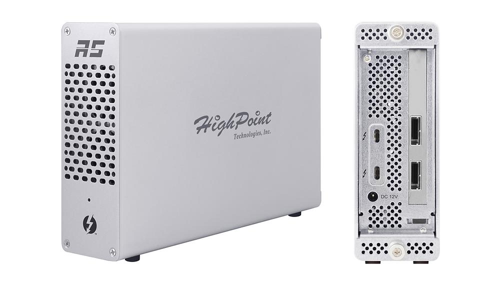 Giải pháp RAID cứng di động, hiệu năng cao Thunderbolt 3 dành cho máy trạm nhỏ gọn và máy tính xách tay.