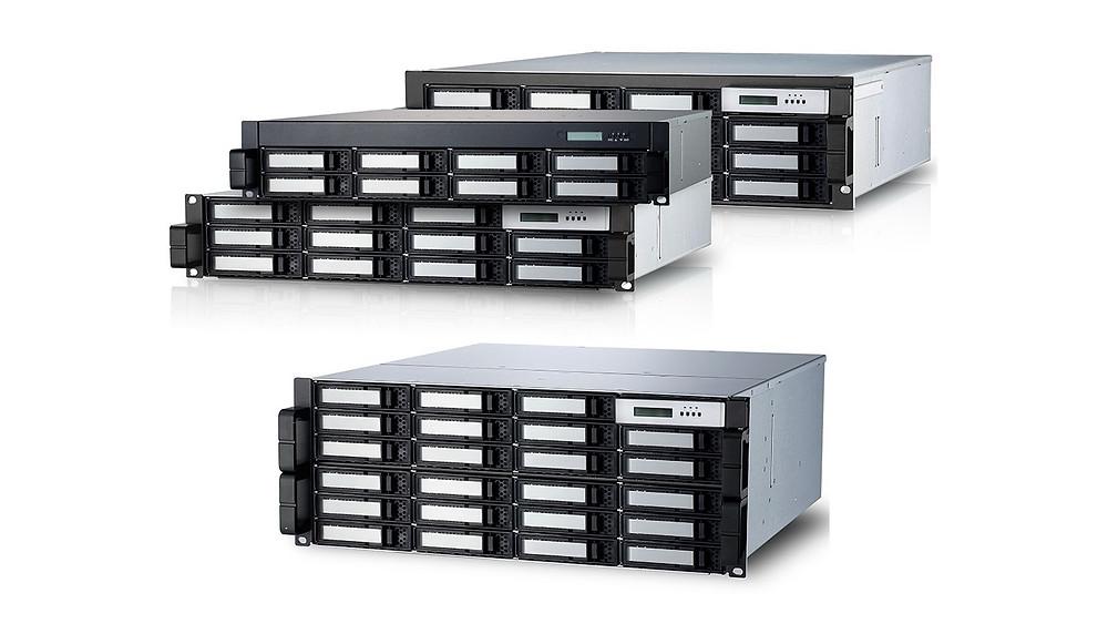 "Areca ARC-71xx: Hệ thống máy chủ RAID HDD/SSD 2.5""/3.5"" SATA 6 Gb/s."