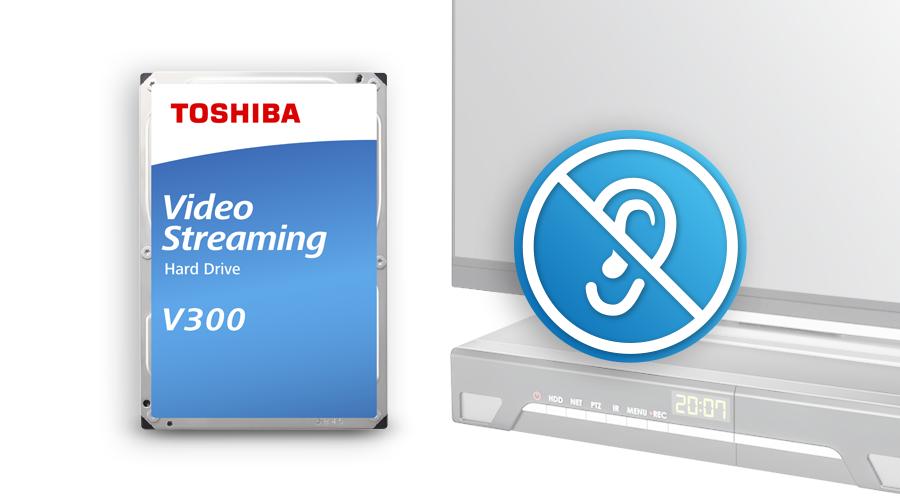 Nhờ tích hợp công nghệ tìm kiếm thầm lặng, giúp dòng HDD stream video V300 luôn ở trạng thái yên tĩnh trong quá trình hoạt động.