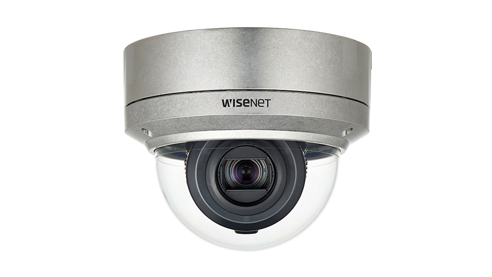 Wisenet XNV-6120RS: Camera dome thép không gỉ IP IR 12x 2MP.