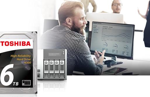 HDD 3.5 inch Toshiba N300 6TB dành cho NAS