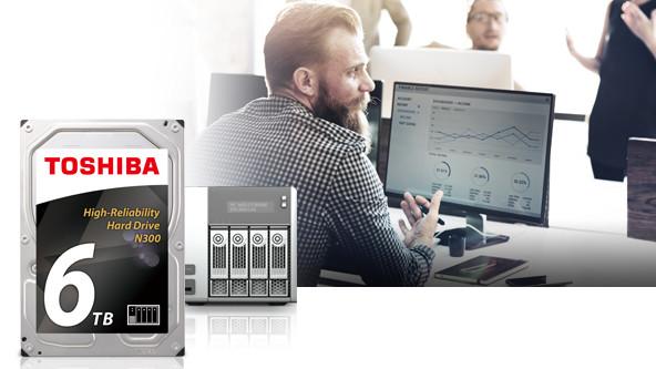 HDD 3.5 inch Toshiba N300 6TB dành cho NAS 1