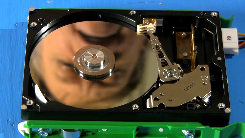 Nguyên lý hoạt động của ổ cứng máy tính.