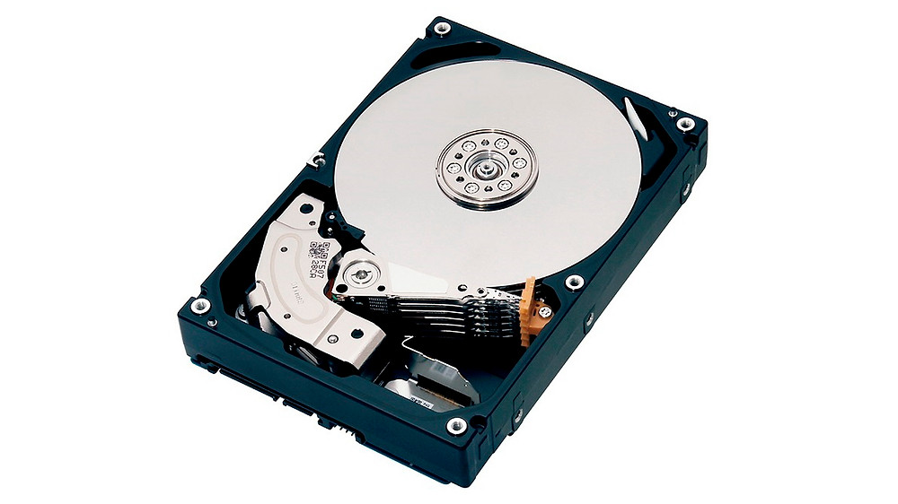 """Toshiba giới thiệu HDD 3.5"""" SATA 6Gb/s dòng MG 8TB cho máy chủ."""