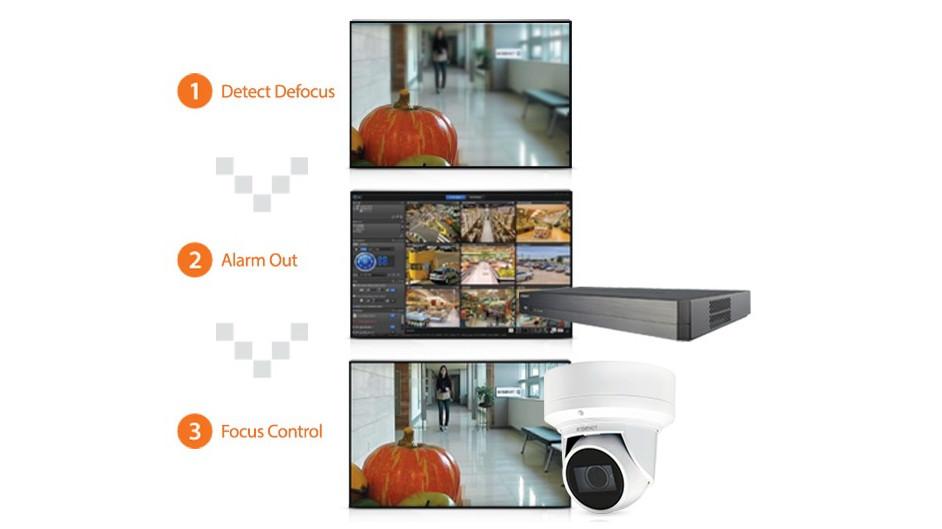 Chức năng phát hiện mất nét (defocus) thông báo cho người dùng biết nếu camera không thể lấy nét do rung động từ bên ngoài.