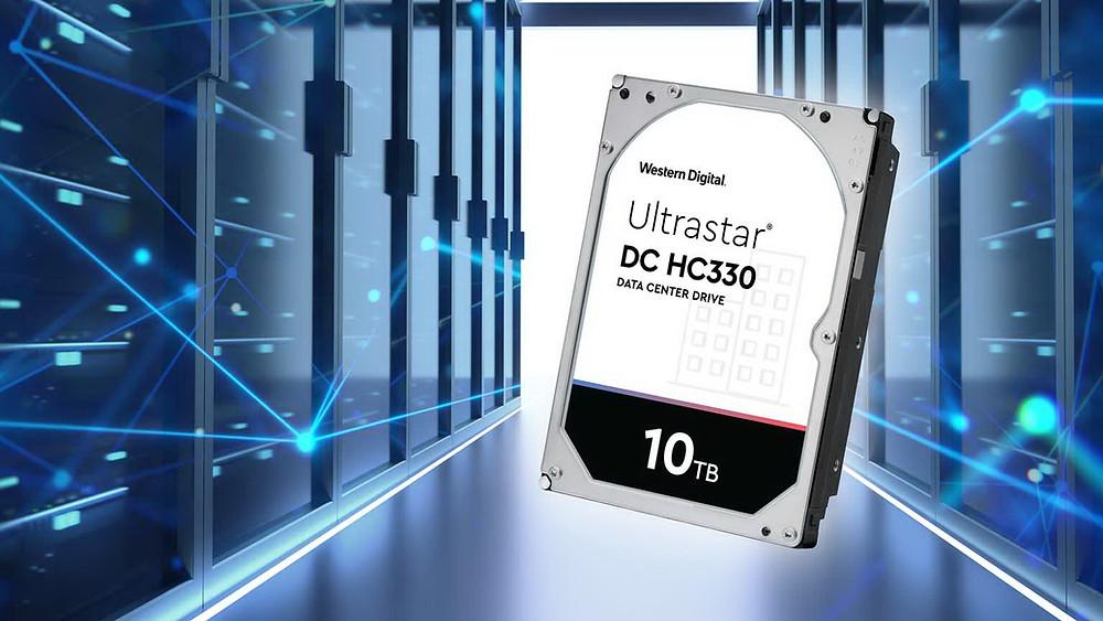 Western Digital bổ sung model 10TB vào dòng ổ cứng Ultrastar DC HC300.