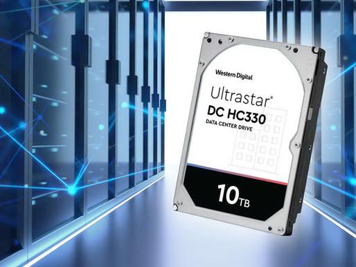 Western Digital bổ sung model 10TB vào dòng ổ cứng Ultrastar DC HC300