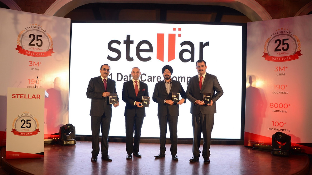 Stellar công bố phần mềm cứu dữ liệu mới nhân dịp kỷ niệm 25 năm thành lập.