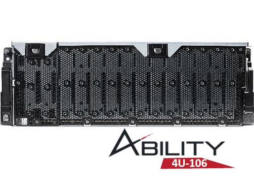 RAID Inc. ra mắt hệ thống máy chủ JBOD Ability 4U 106-khay SAS 12Gb