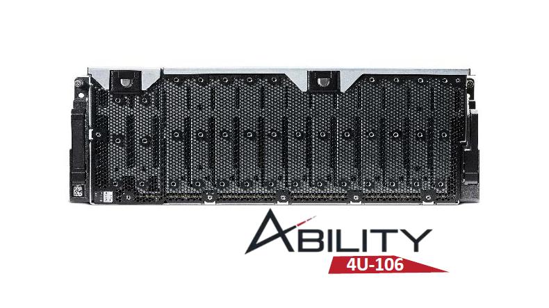 RAID Inc. ra mắt hệ thống máy chủ JBOD Ability 4U 106-khay SAS 12Gb.