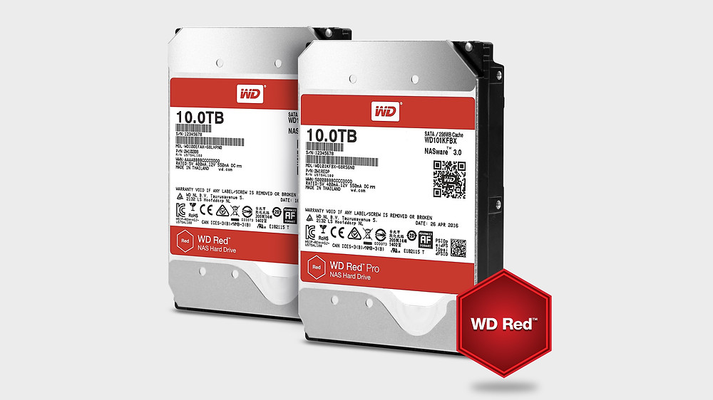 "Western Digital ra mắt ổ cứng Heli 3.5"" NAS WD Red và WD Red Pro 10TB."