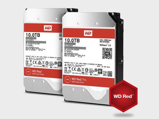 "Western Digital ra mắt ổ cứng Heli 3.5"" NAS WD Red và WD Red Pro 10TB"
