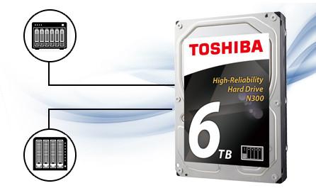 Loạt HDD N300 hỗ trợ lên đến 8 khay ổ đĩa, đa cấu hình RAID, nghĩa là người dùng có thể thay đổi cấu hình NAS sao cho phù hợp với nhu cầu lưu trữ trong tương lai.