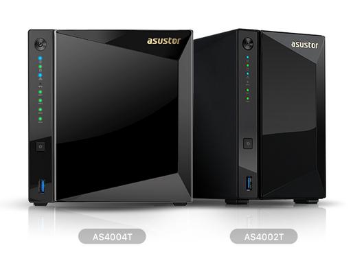 Asustor giới thiệu thiết bị NAS 2-khay AS4002T và 4-khay AS4004T