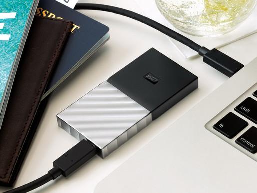WD lần đầu tiên giới thiệu SSD di động với tốc độ bằng ổ đĩa gắn trong