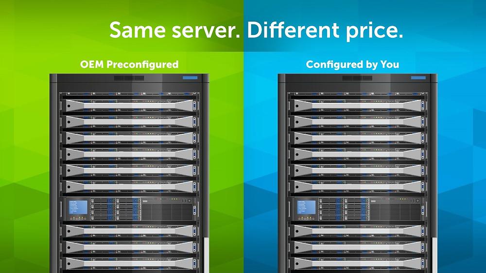 Crucial: Tiết kiệm 35% chi phí khi tự lắp đặt DRAM và SSD trên máy chủ.