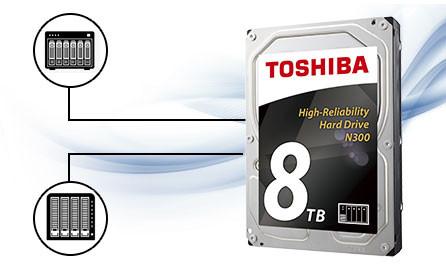 Hỗ trợ lên đến 8 khay ổ đĩa trong thiết kế NAS đa cấu hình RAID.