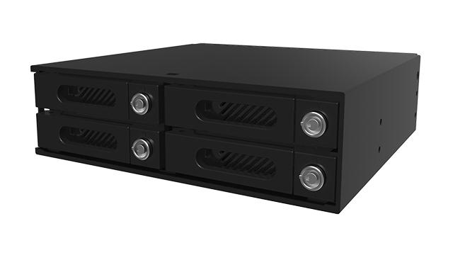 Raidon InTANK iR4300-S2: Giải pháp lưu trữ RAID 5 với 4 khay 2.5 inch.