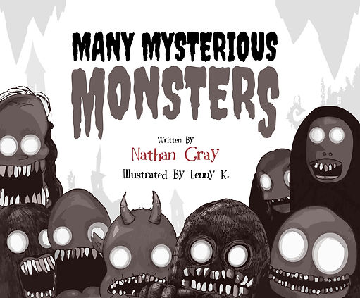 Many Mysterios Monsers by Lenny K.
