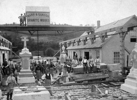 Carved in Stone: The Early Years of Vermont's Granite Industry