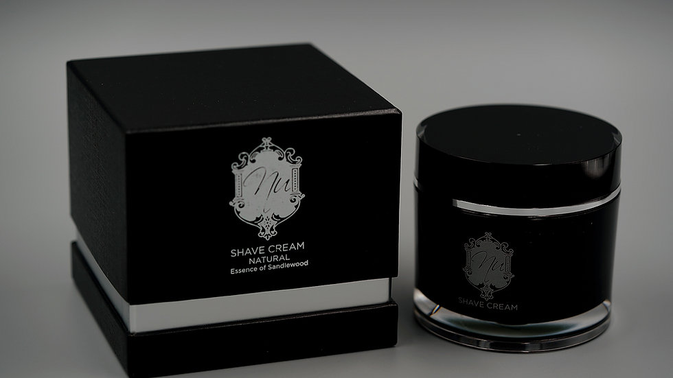 Shave Cream—Natural [Essence of Sandlewood]