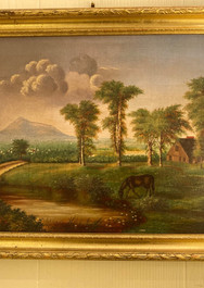 Oil on Canvas, 19th century