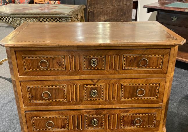 19th Century Italian inlaid chest