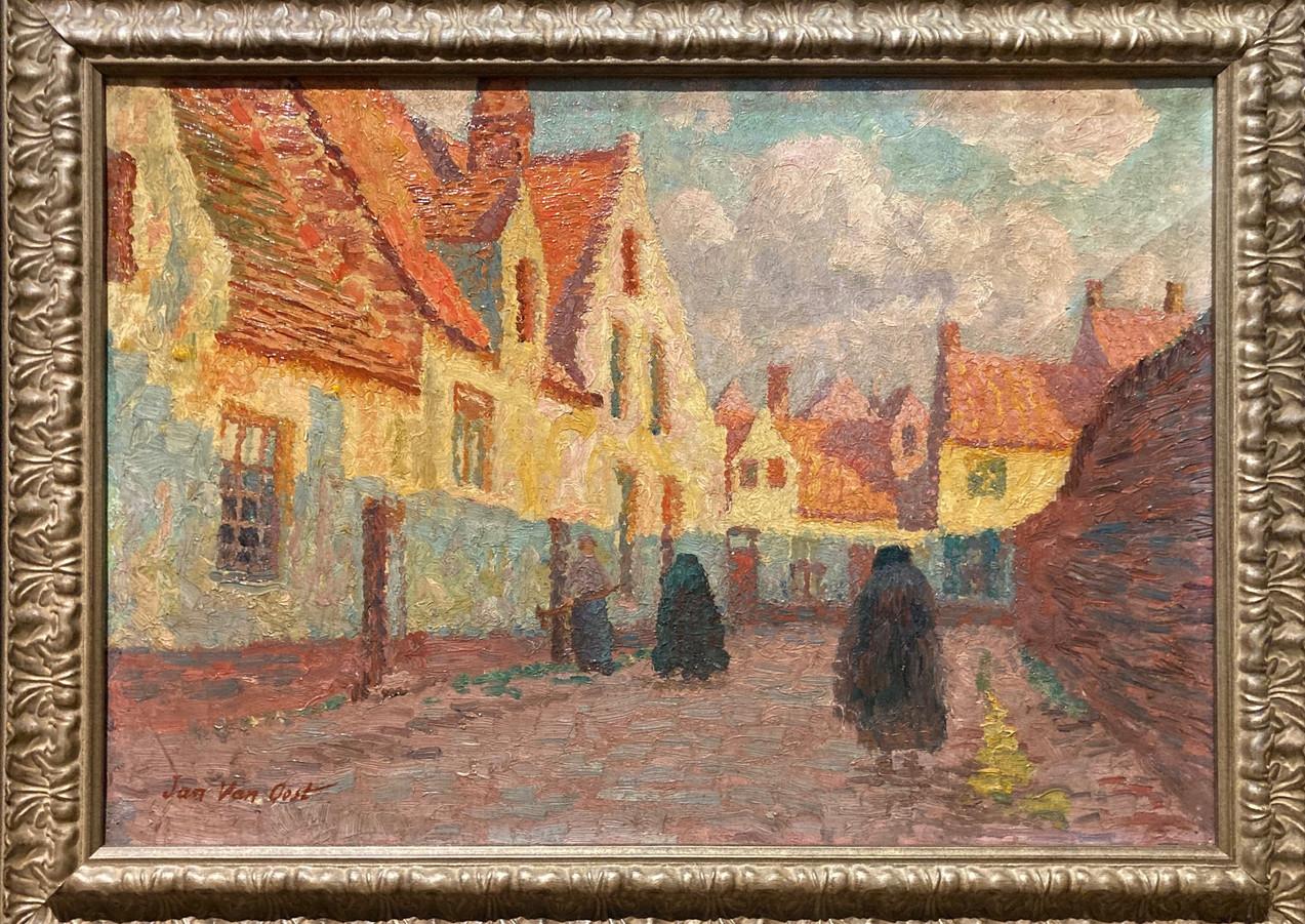 """Flemish Village Street"", c. 1975, Jan Van Oost"