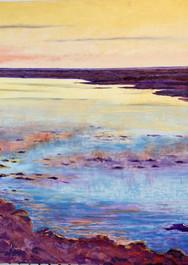"""""""Misty Morning"""", NC artist, C. Kleinstrever"""