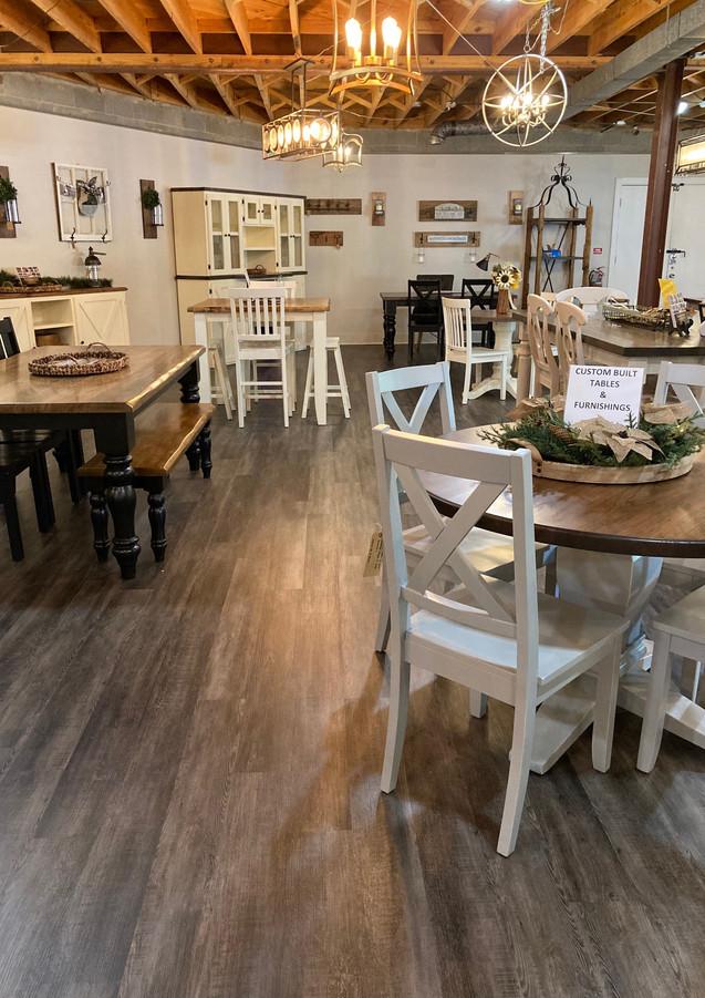 Custom built solid wood furniture. Made in North Carolina.