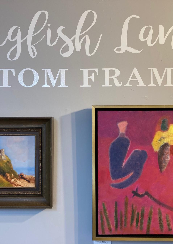 Pigfish Lane Custom Framing