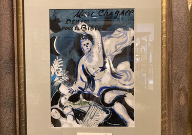 Marc Chagall 'Bible' $640