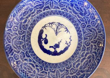 Meiji Porcelain, Blue & White, c. 1880-1890