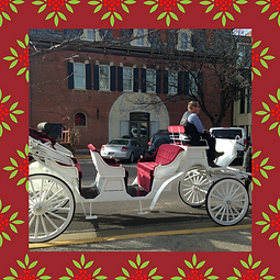 holiday carriage ride hermann