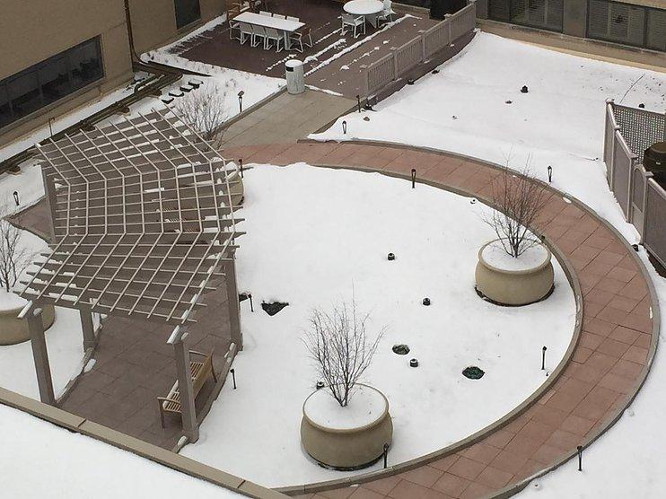 pedestal snowmelt