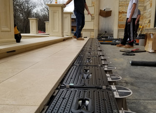 ThermaPANEL vs PEX for Snowmelt, Solar Pool Heating and Surface Cooling.
