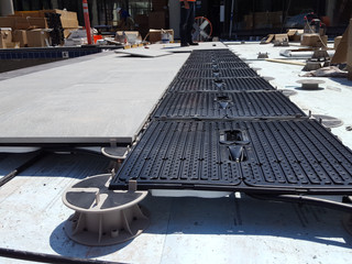 ThermaPANEL Paver and Pedestal Compatibility