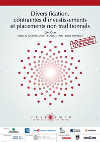 Diversification, contraintes d'investissements et placements non traditionnels