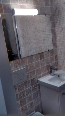TRAVAUX | salle d'eau