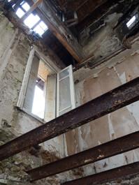 Démarrage de chantier pour la transformation de l'ancienne maison de retraite en 2 maisons indiv
