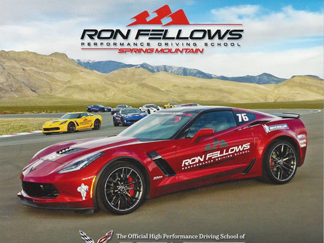 Ron Fellows Corvette Owners Performance Driving School - Part II
