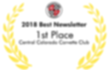 2018 NCM Best Newsletter Central Colorado Corvette Club