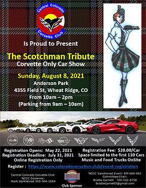 2021 Central Colorado Corvette Club Scotchman Corvette Car Show